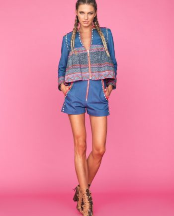 Denim short Tete by Odette para Zahir