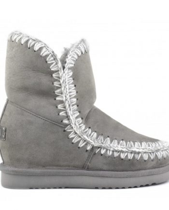 76981332a4a Botas Mou Eskimo Inner Wedge Short Grey