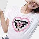 zahir camiseta Moschino Minnie fuck your fake