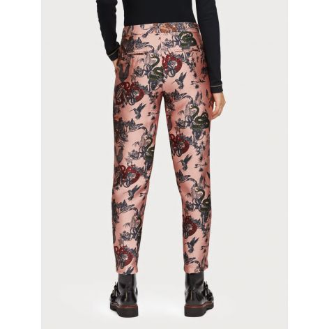 Pantalon estampado maison scotch